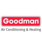 Goodman heating and cooling logo