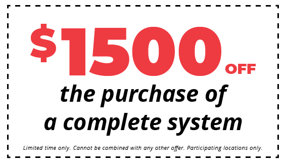 $1500 off the purchase of a complete hvac system coupon