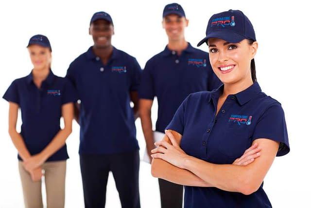 Temperature Pro team of HVAC technicians